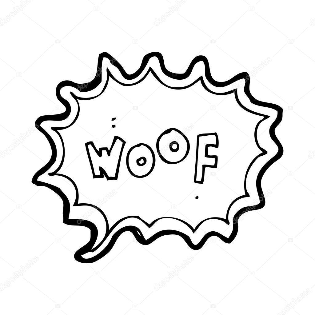 1024x1024 Dog Bark Speech Bubble Stock Vector Lineartestpilot