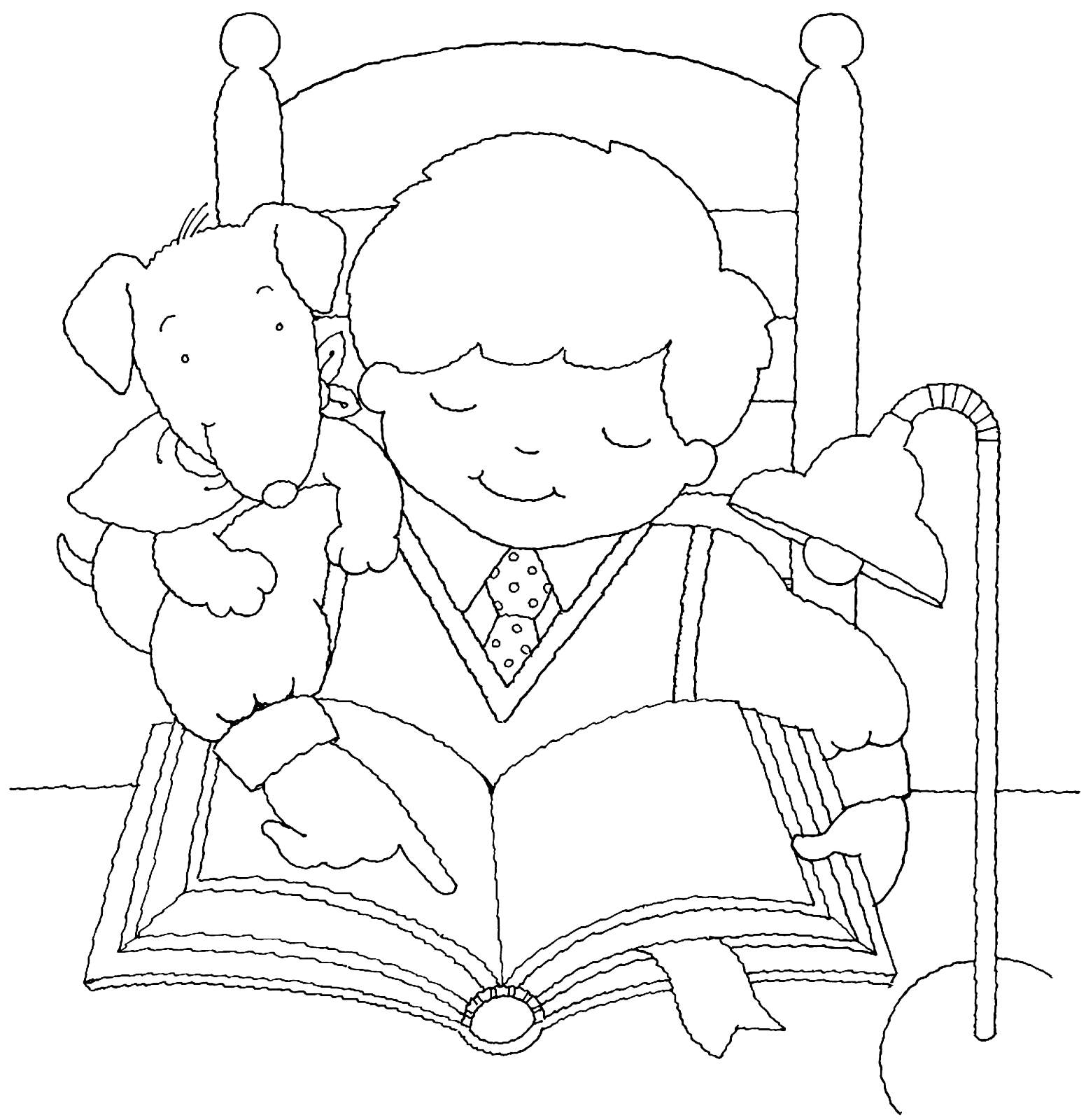 1552x1600 Boy Reading Scriptures