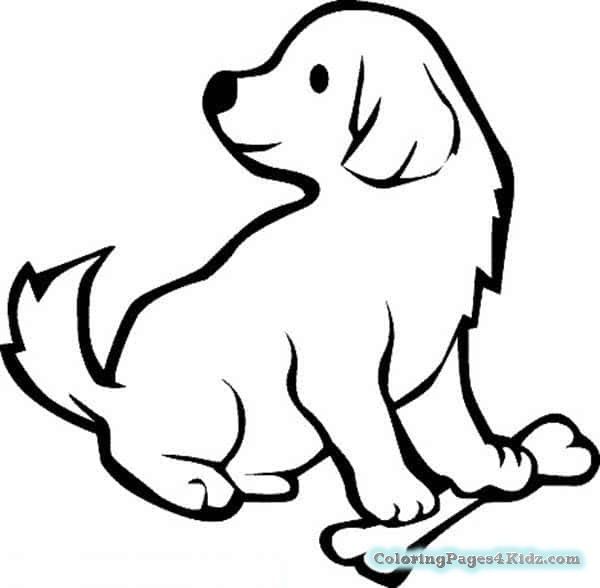 600x588 Dog Bone Coloring Page Coloring Pages For Kids