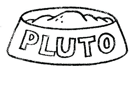 467x305 Baby Pluto Coloring Pages Dog Dish Baby Mickey And Pluto Coloring