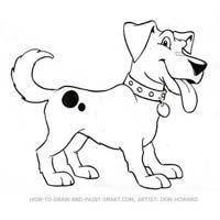 200x200 How To Draw A Cartoon Dog