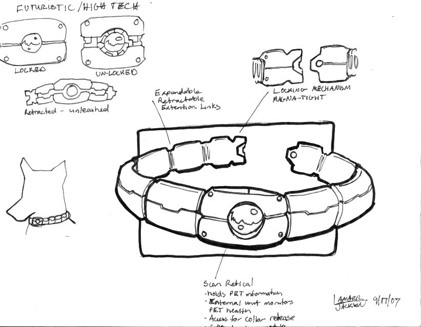 822x638 Dog Collar Futuristic Tech By Reiku03