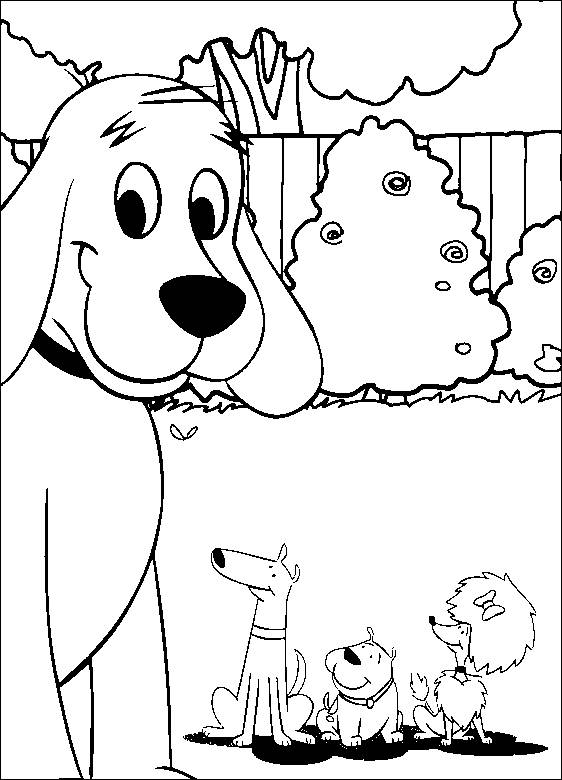 562x780 Clifford Blues Coloring Pages For Kids Free Coloring Pages