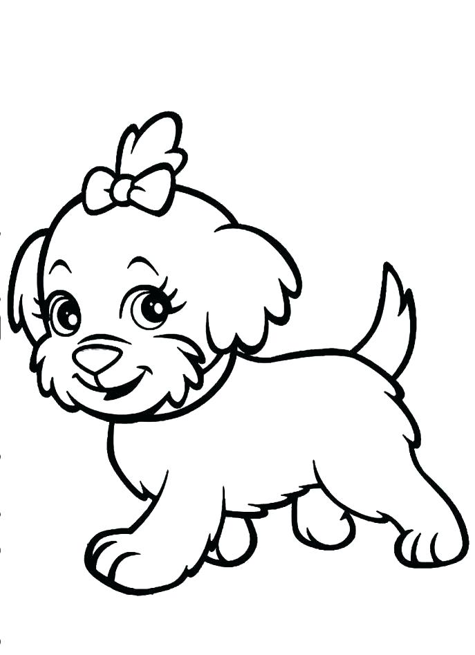 687x947 Coloring Picture Dog Dog Coloring Pages Medium Size Of Coloring
