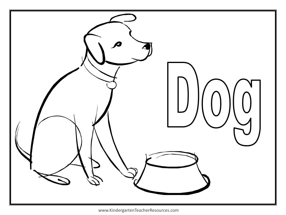 Dog Drawing From Word at GetDrawings | Free download