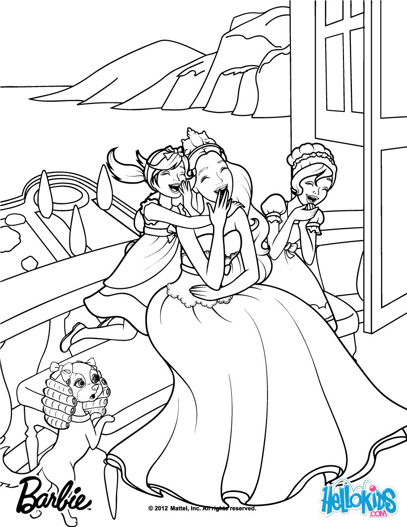 820x1060 Barbie Coloring Pages Games