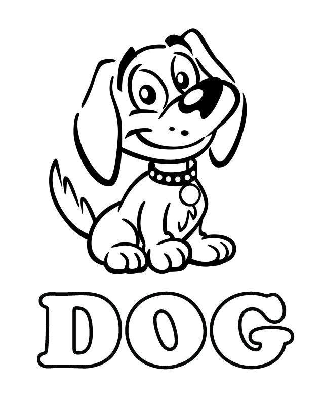 Dog Drawing Template at GetDrawings | Free download