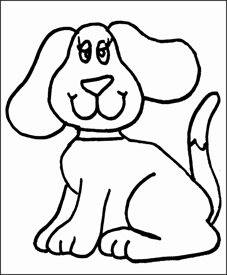 751x908 Easy Drawings Of Dogs Ego5w Beautiful How To Draw A Dog Simple