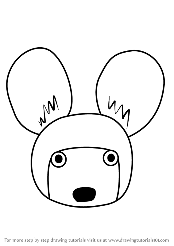 567x800 Learn How To Draw An African Wild Dog Face For Kids (Animal Faces