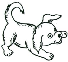 236x214 How To Create A Dog Drawing Step By Step Art For Children