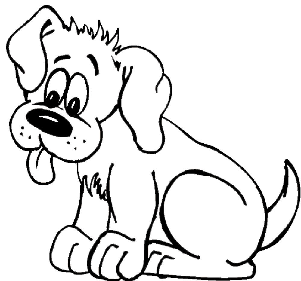 1000x935 Dog Coloring Pages Of Dogs Kids Colouring Biscuit The