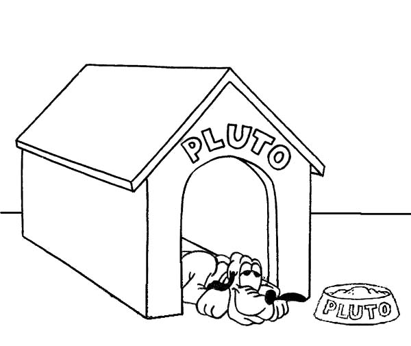 Dog House Drawing at GetDrawings.com   Free for personal use Dog ...