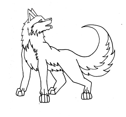 416x385 How To Draw A Dog