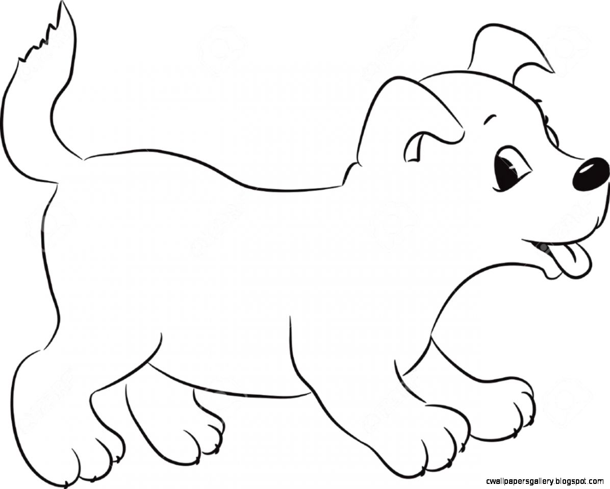 1196x959 Cute Dog Drawing Wallpapers Gallery