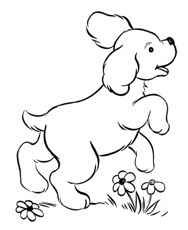 650x796 Cute Puppies Jumping Coloring Page Coloring Pages