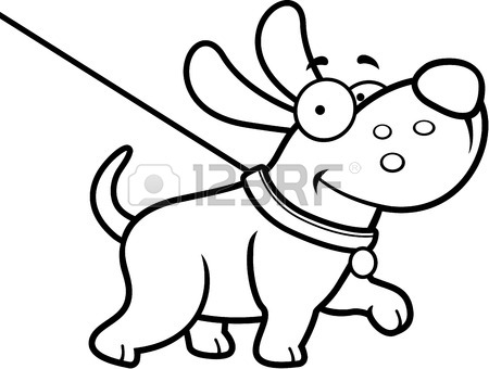 Dog Leash Drawing At Getdrawings Com
