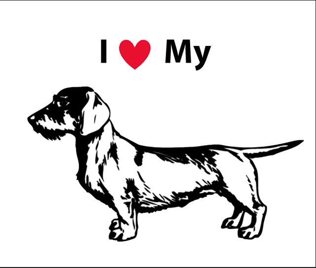 Dog Love Drawing At Getdrawings Com