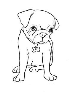 236x314 Free Dog Applique Patterns, Pug Applique Template Dog Love