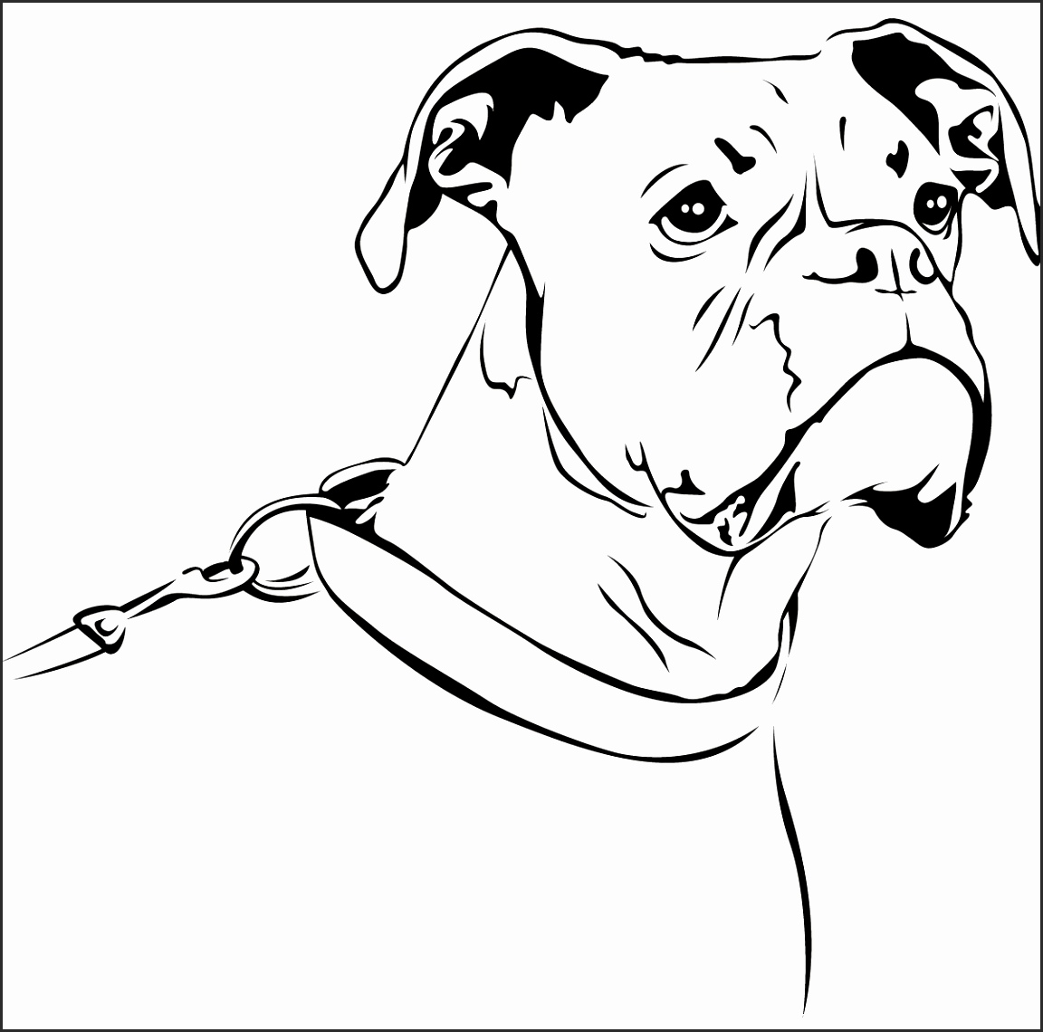 1152x1140 How To Draw A Boxer Dog Face Jgdvg Best Of Boxer Dog Black