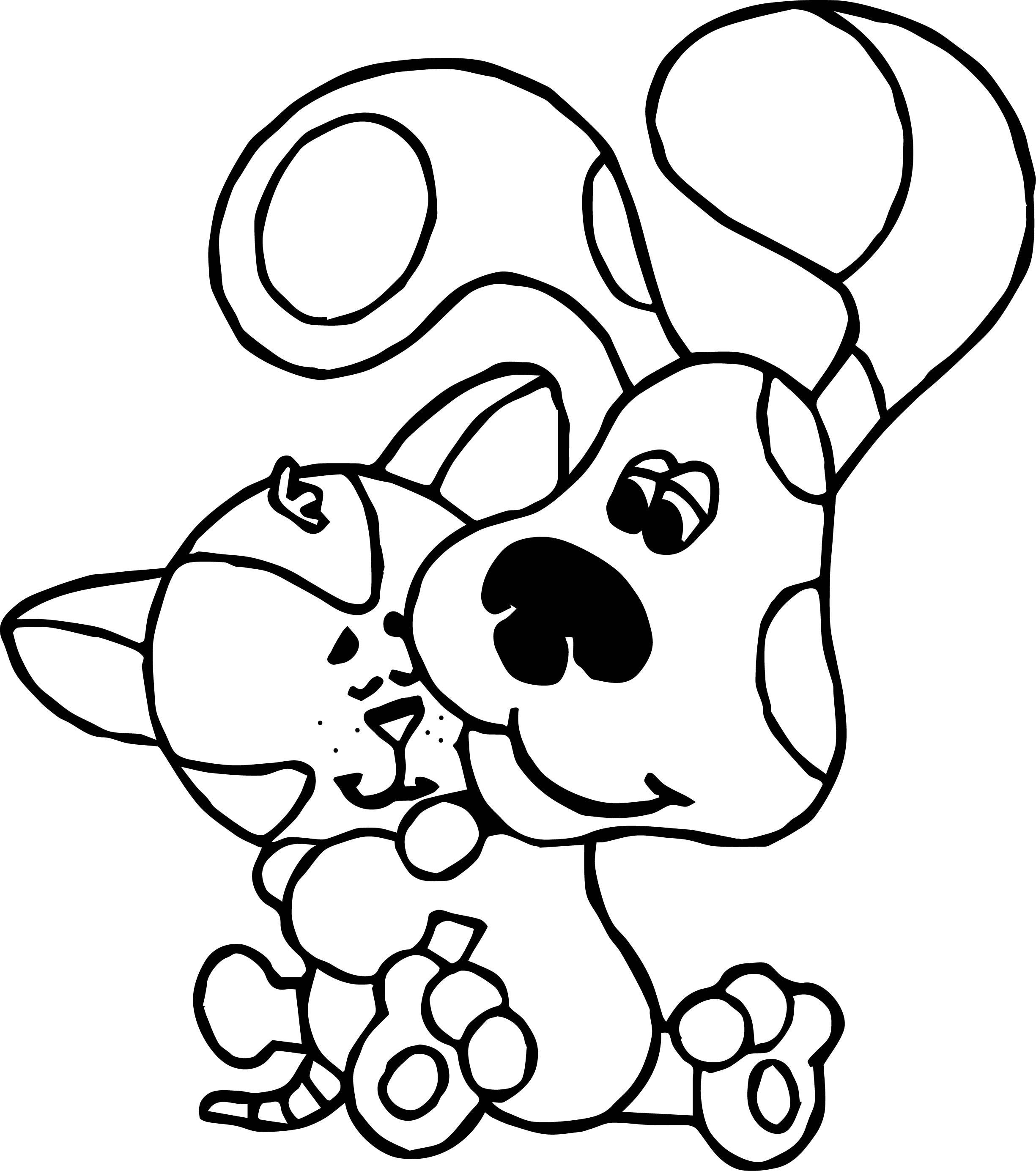 Dog Paw Drawing at GetDrawings