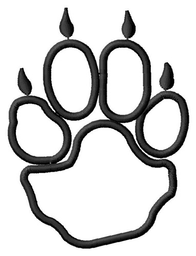 382x500 Coyote Clipart Paws