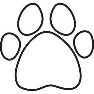 300x300 Paw Print Coloring Pages Coloring Page For Kids