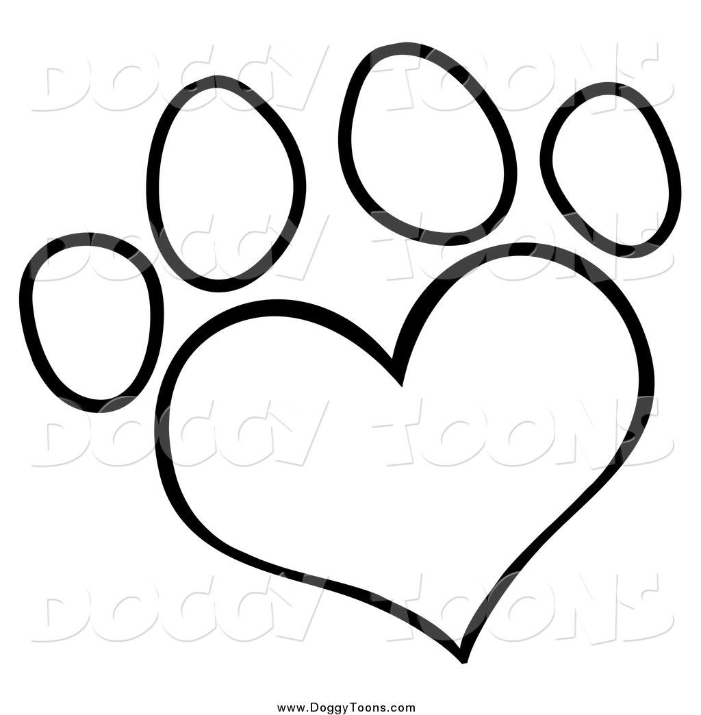 1024x1044 Best Photos Of White Dog Paw Print Heart