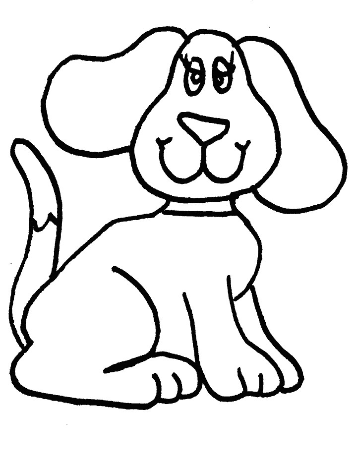 718x944 Gallery Simple Dog Drawing For Kids,