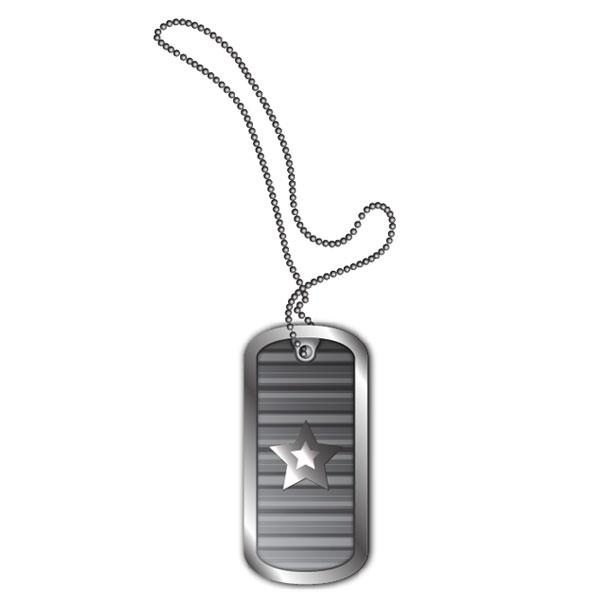 600x600 Create Stylized Vector Dog Tags