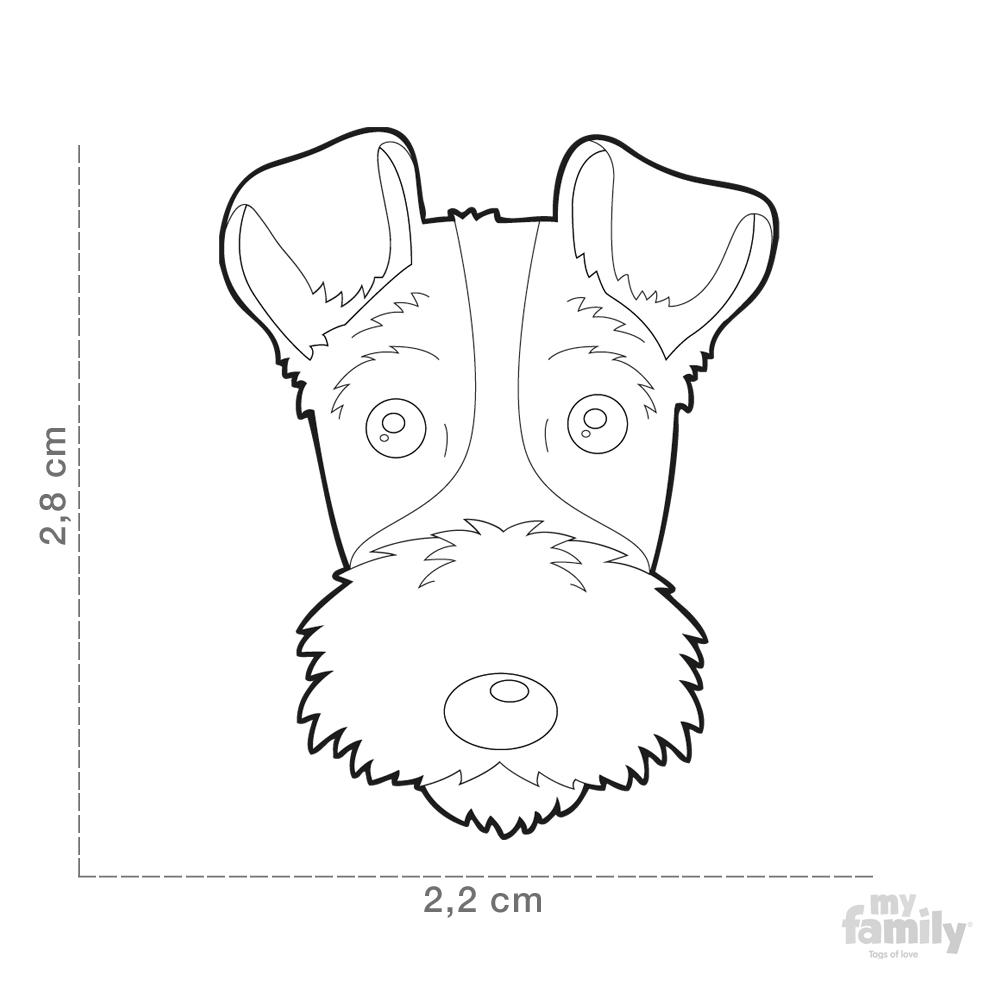 1000x1000 Fox Terrier Dog Id Tags Myfamily