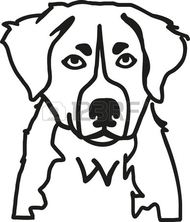 Dog Word Drawing