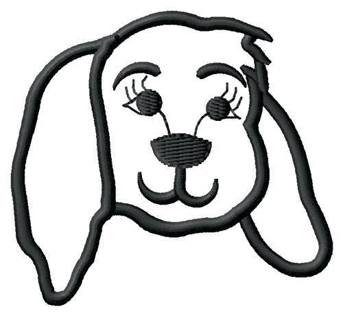 500x460 Dog Face Outline Drawn Pug Outline 2 Dog Face Outline Tattoo