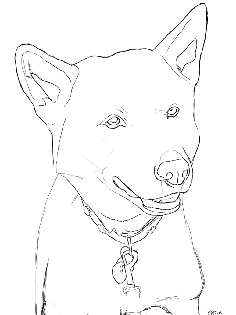 Doge Drawing at GetDrawings com | Free for personal use Doge