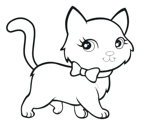 540x468 Elegant Coloring Pages Cats And Coloring Pages Cat Drawings 47