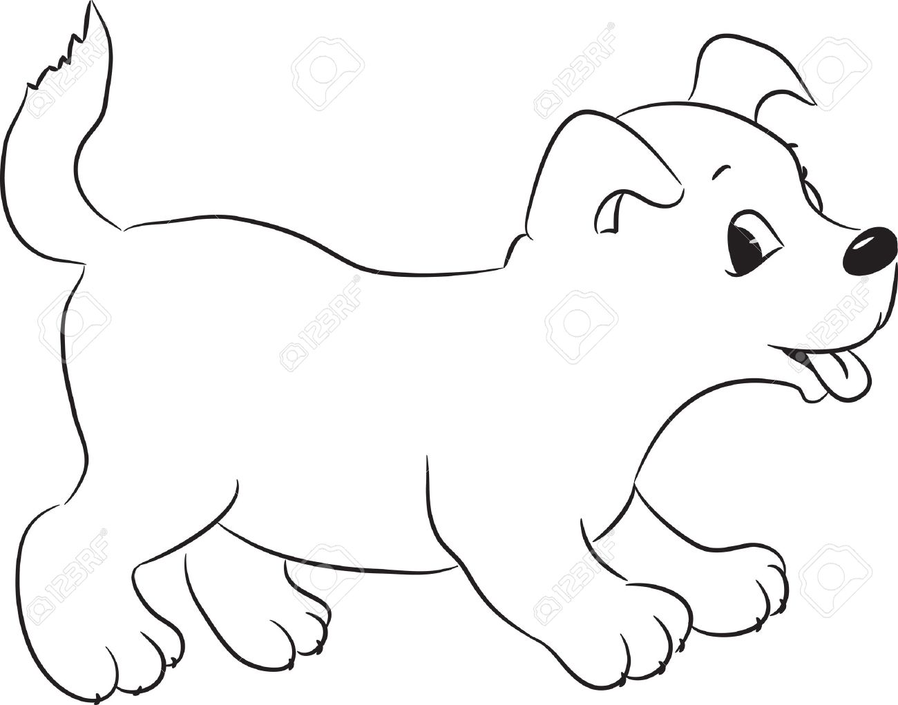 Dogs Cartoon Drawing