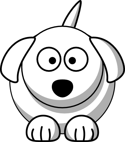 528x599 Dogs Face Cliparts