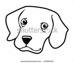 236x202 Funny Dog Face Clipart Black And White