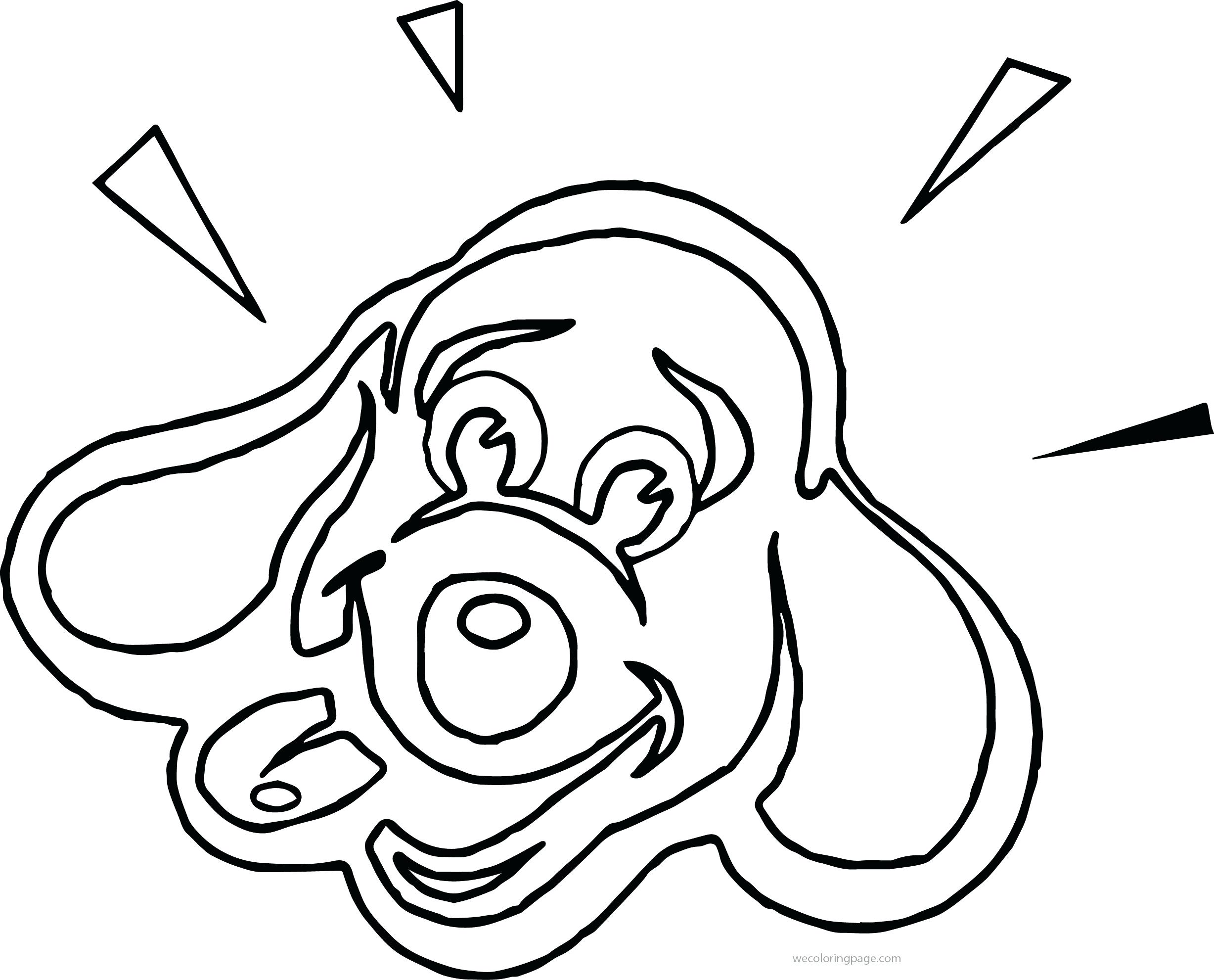 2455x1981 Dog Face Clipart Black And White. Animal Face Drawing Kids Colour