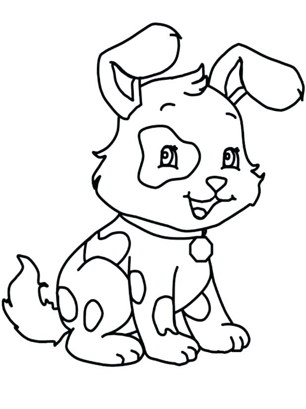 618x824 Dog Coloring Pages To Print Plus Coloring Pages Dogs How To Draw