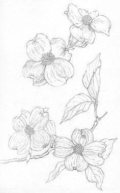 236x380 Dogwood Flower Tattoo Tattoos Dogwood Flower