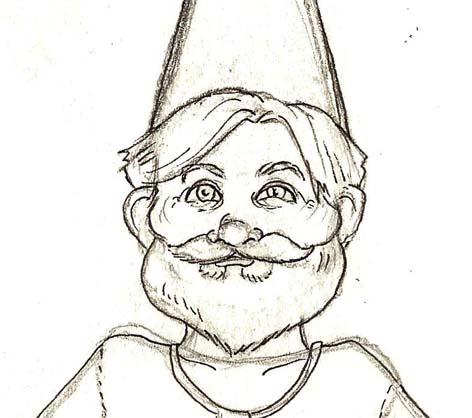 472x418 Georgia Dunn Studio Gnome Paper Doll Sketches