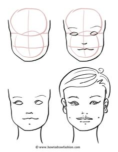 236x305 How To Draw Fashion How To Draw The Face, Eyes, Nose And Lips
