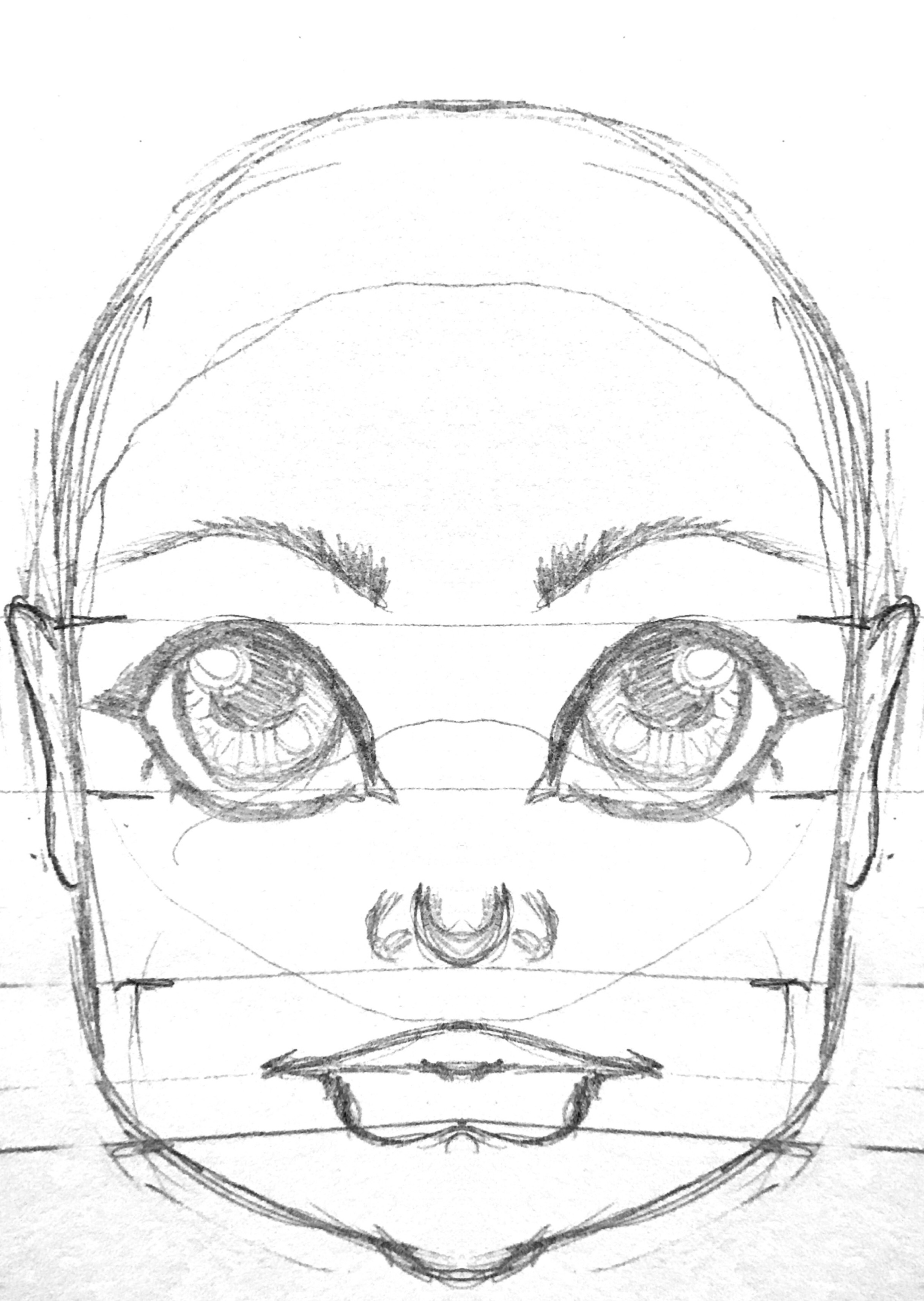 2435x3428 Doll Dollface Face Girl Bjd Digitaldoll Doddle Sketch