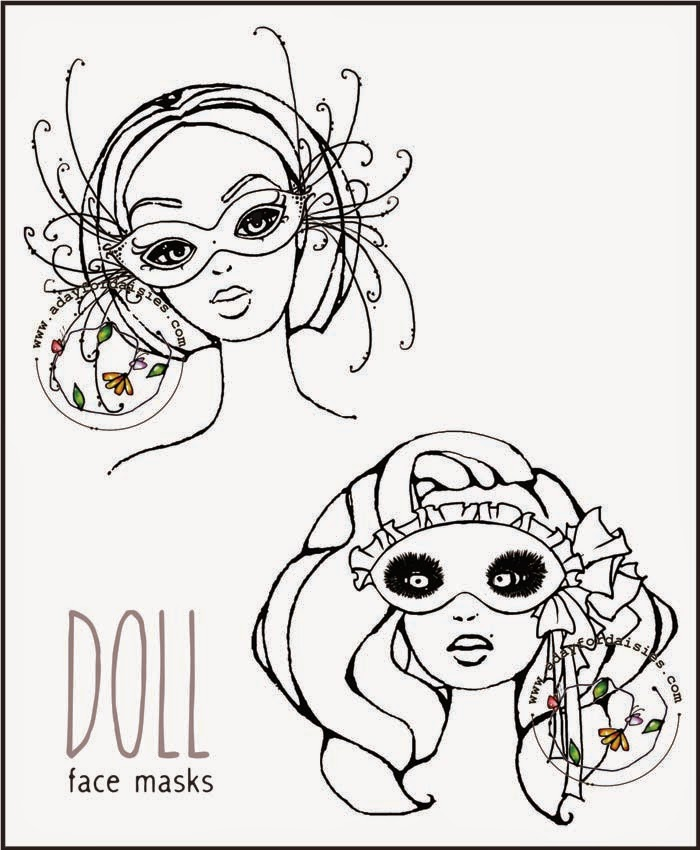 700x850 A Day For Daisies Take Two ~ Doll Face Prints Amp Challenge