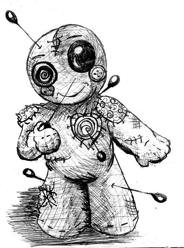 594x800 Drawn Doll Art