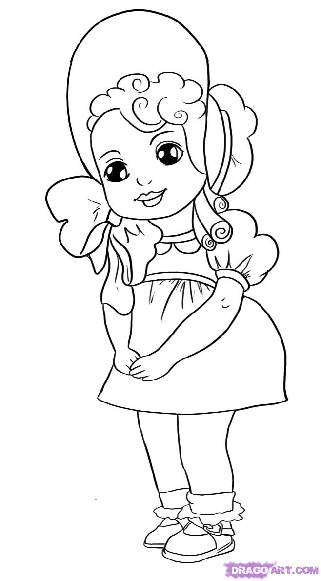 658x1188 Pictures Sketch Doll,