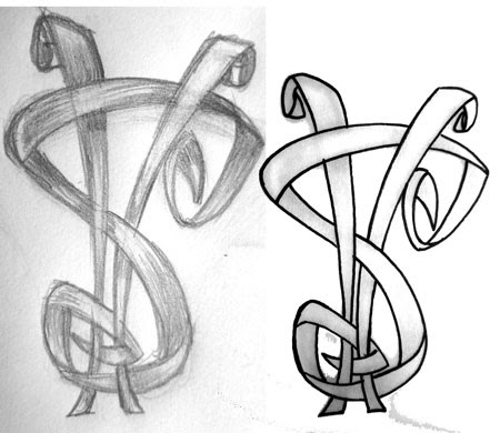 Dollar Sign Drawing