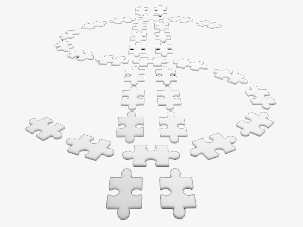 600x450 White Puzzle Dollar Sign, White, Puzzle, Dollar Png Image For Free
