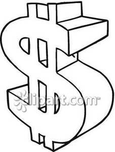 227x300 And White Dollar Sign