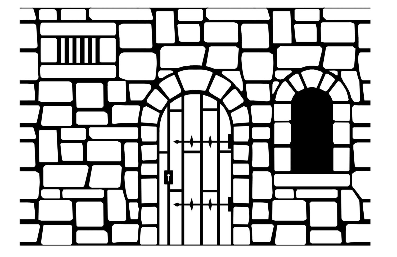 1500x971 Miniature Castle Stencils Dollhouse 112 Scale Painting